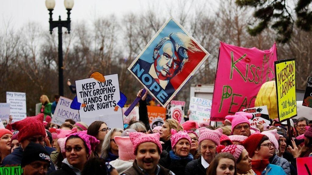 Feminismo: la palabra del año para este diccionario estadounidense