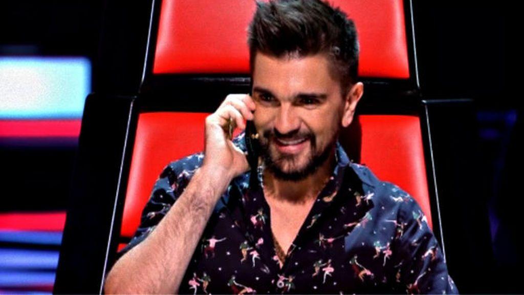 El cantante Juanes, 'coach' de 'La voz 5'.