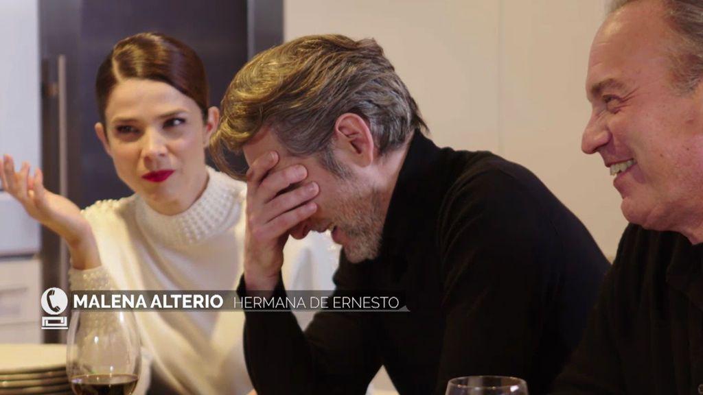 Todos escuchan la conversación de Malena Alterio y Ernesto: ¿Quién se va a retocar la cara?