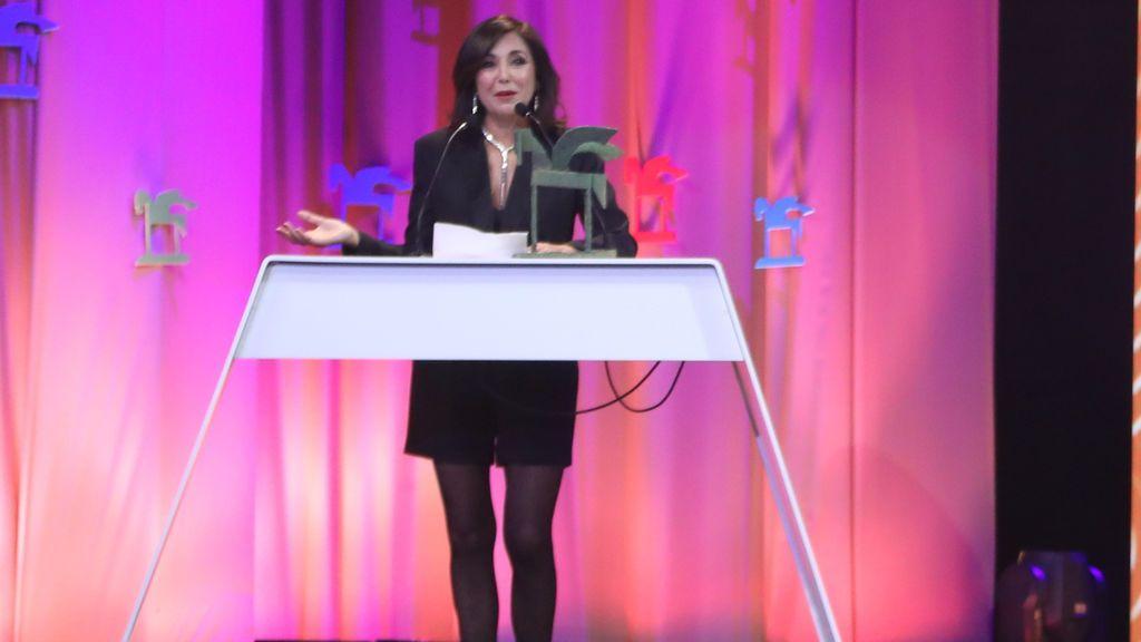 Isabel Gemio. Premio a la trayectoria.