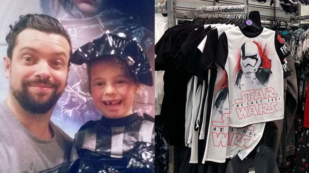 """""""¿Por qué estas camisetas de Star Wars sólo se venden en la sección de niños?"""""""