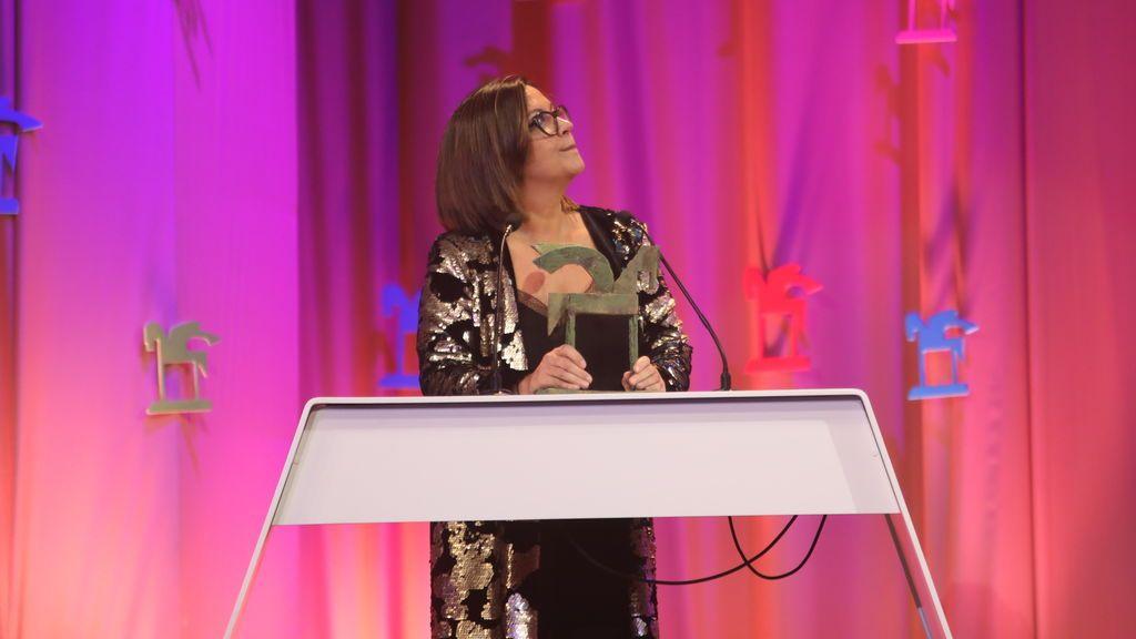 Àngels Barceló, directora de 'Hora 25' (cadena SER). Mejor presentador o programa de radio hablada.