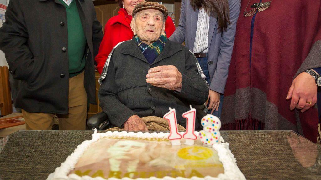El extremeño Francisco Núñez, el hombre más longevo del mundo, cumple 113 años