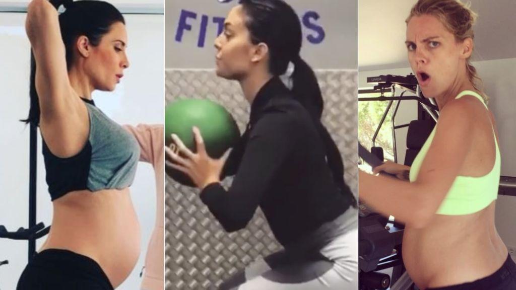 Pilar Rubio, Georgina, Salamanca, Malena Costa: (una experta nos cuenta) errores y aciertos de entrenar embarazada