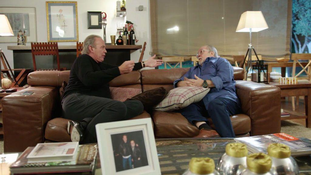 """Bertín, a Arévalo, en su charla definitiva: """"Te fuiste a televisión y ahí es cuando se lio el circo"""""""