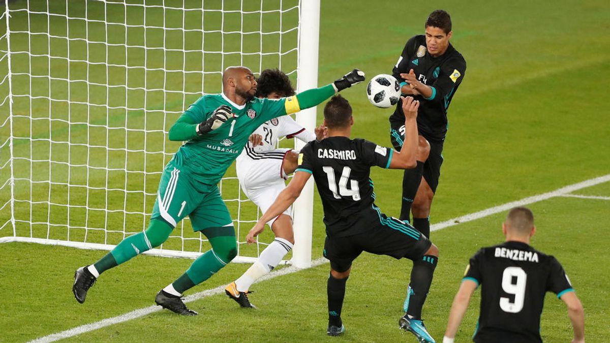 Ali Khaseif, portero del Al Jazira, hace 15 minutos para la historia ante el Madrid y las redes alucinan con sus paradas