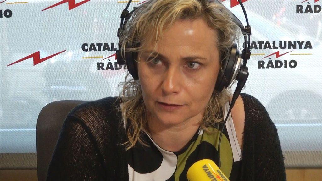 Mònica Terribas, presentadora del programa 'El matí de Catalunya Ràdio'.