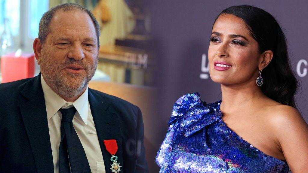 Harvey Weinstein responde a Salma Hayek y solo niega UNA de las acusaciones sobre acoso sexual