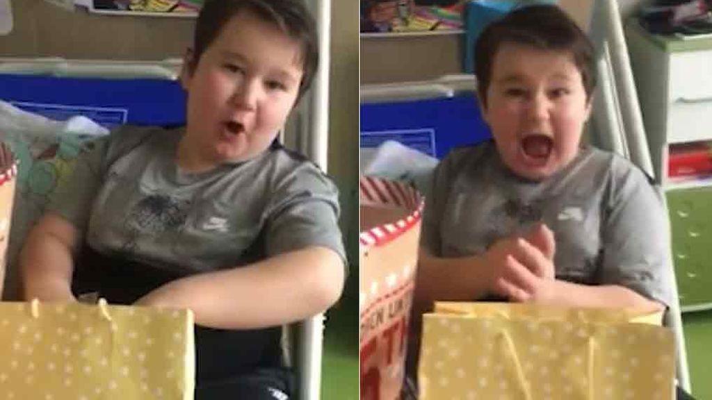 Cartas y regalos para salvar a Jacko, el pequeño de 8 años que intentó suicidarse