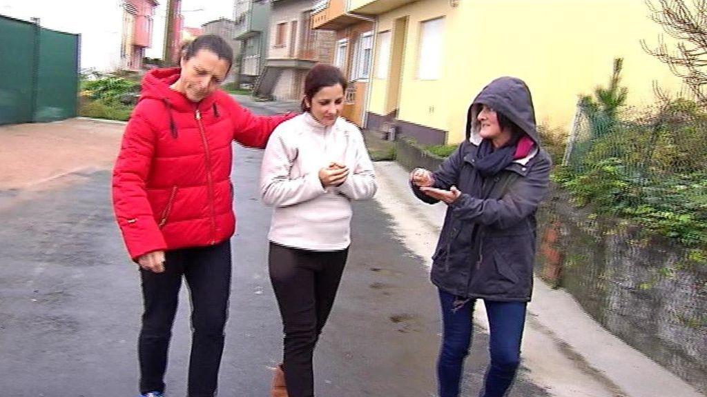 Aún hay gente buena: un pueblo gallego se vuelca con Tatiana tras perder a su marido