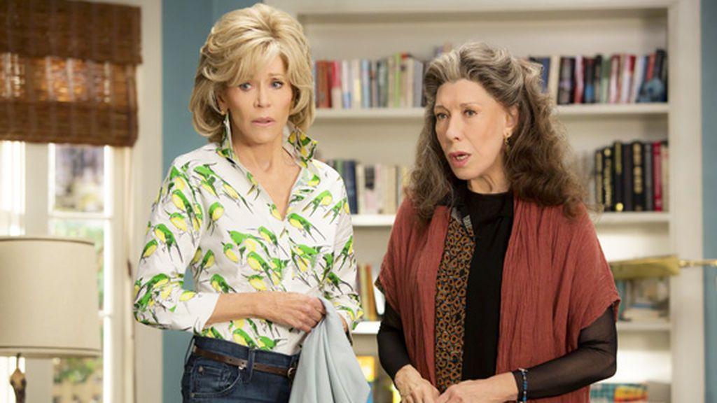 La serie de Netflix 'Grance y Frankie'