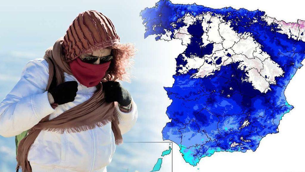 Un nuevo frente trae frío y nieve a 500 metros este viernes: ¿será el último del año?