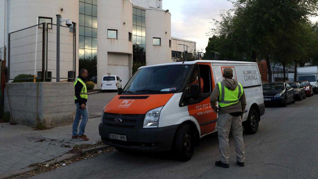 La Guardia Civil registra Unipost