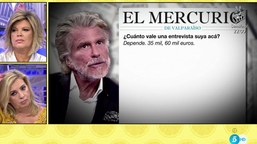 """La entrevista en la que Edmundo Arrocet habla como si fuera un millonario """"number one"""""""