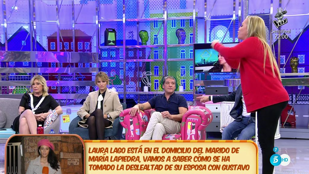 """Belén Esteban: """"Yo creo que Gustavo y María Lapiedra tenían todo esto hablado"""""""