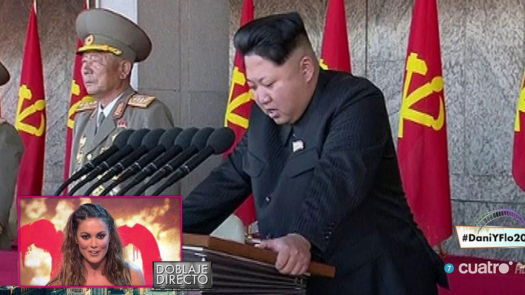 Lara Álvarez se atreve con su primer doblaje en directo: un Kim Jong-un con acento andaluz