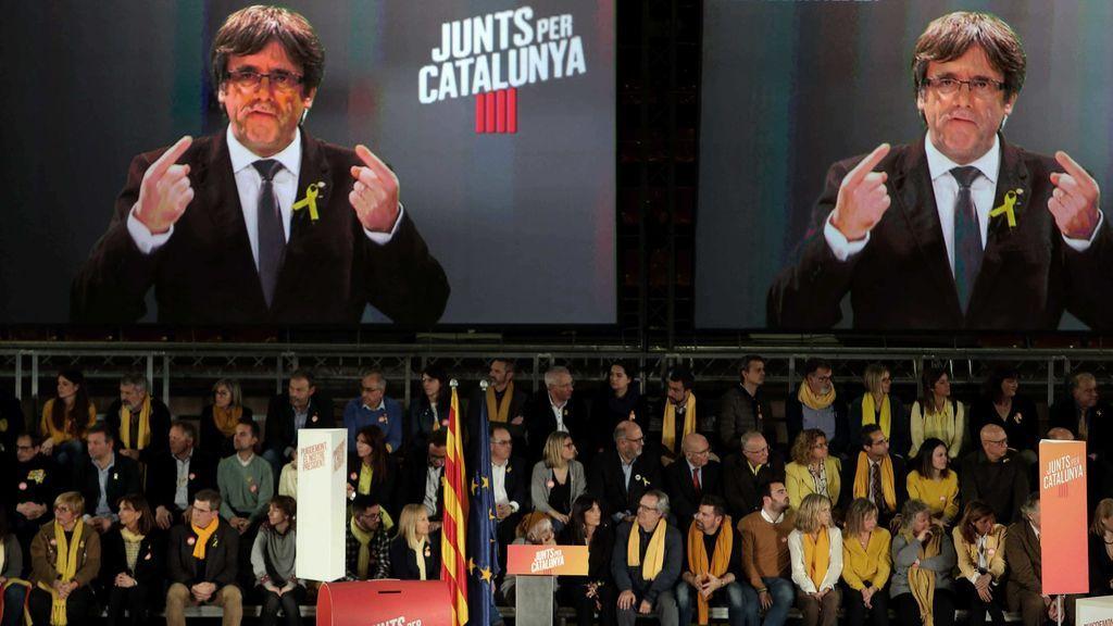 """Puigdemont pide votar con """"mentalidad de Estado"""" y no en clave de partido"""