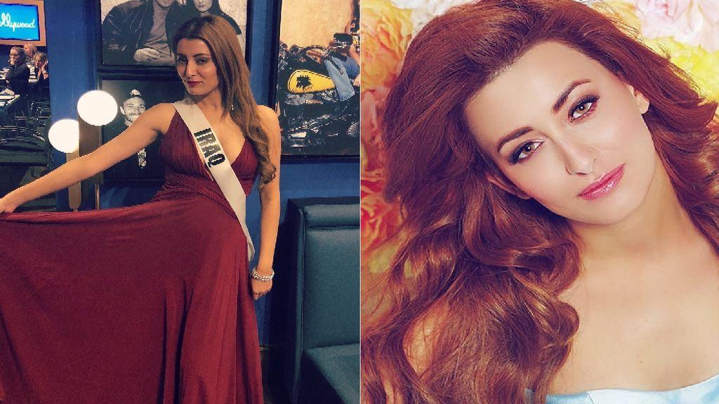 La familia de Miss Iraq amenazada de muerte por su fotografía con Miss Israel
