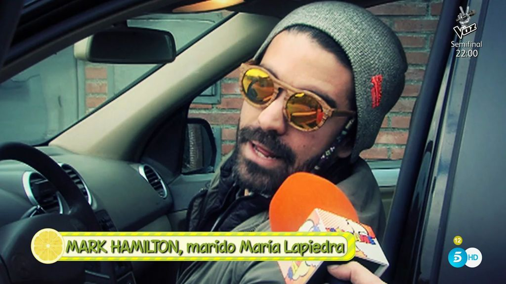 """Primeras declaraciones de Mark, marido de María Lapiedra: """"El único Gustavo que yo conozco es la rana"""""""