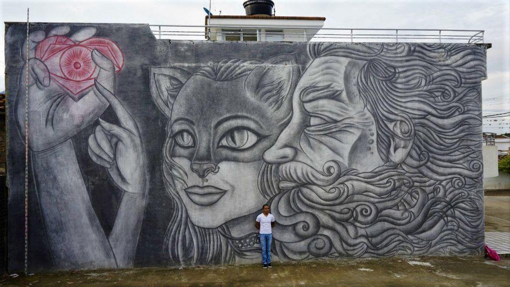 El mural a lápiz más grande del mundo
