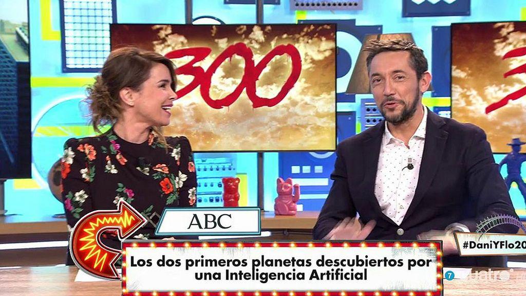 Carme Chaparro y Javier Ruiz se atreven con un divertidísimo 'Antisumario' en 'Dani y Flo'