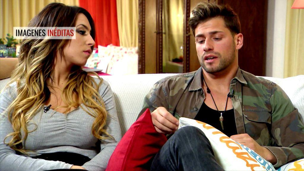 Inédito en telecinco.es: ¿Qué opina Melani del abandono de Álex?