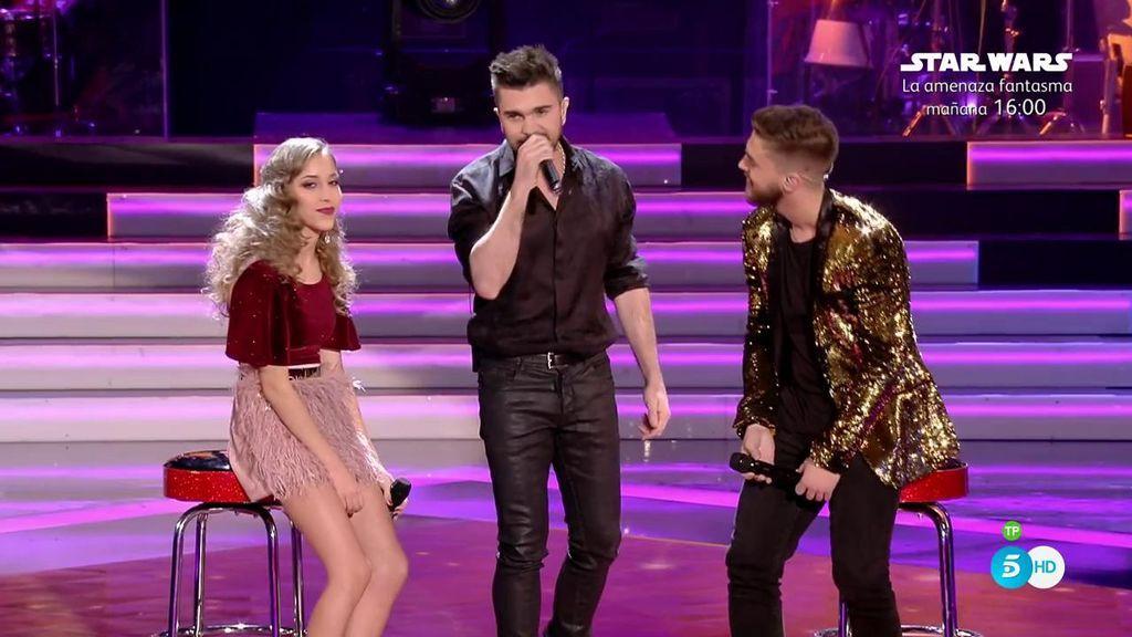 ¡Tremenda versión de 'Nada valgo sin tu amor' de Juanes, Elena y Pedro!