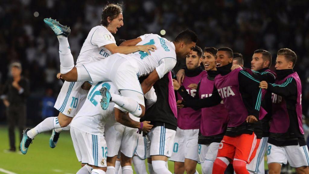 El Real Madrid prolonga su reinado mundial al derrotar al Gremio (1-0)