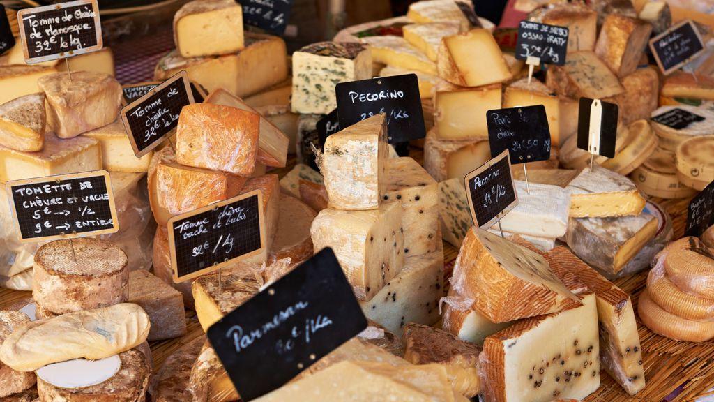 Los cuatro quesos que puedes comer aunque seas intolerante a la lactosa