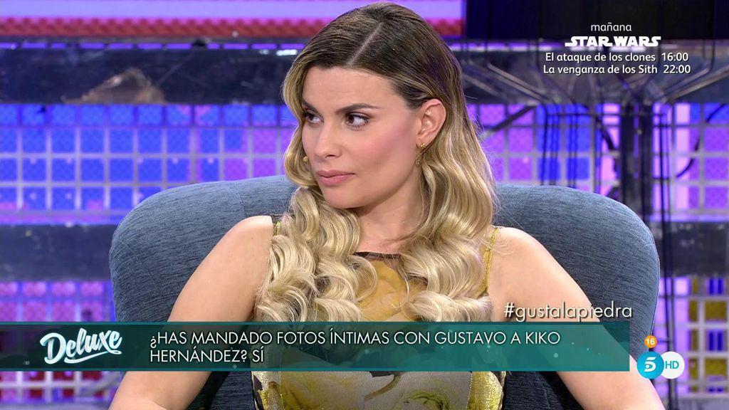 Confirmado: María Lapiedra envió fotos íntimas a Kiko Hernández tras un enfado con Gustavo