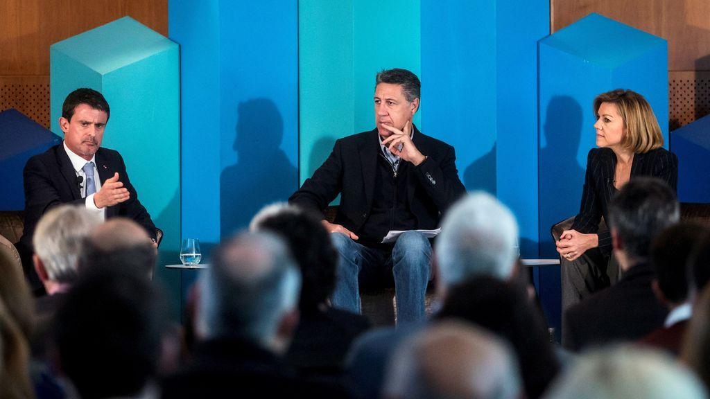 "El exprimer ministro Manuel Valls secunda a PP, Cs y PSC: ""Europa necesita a España"""
