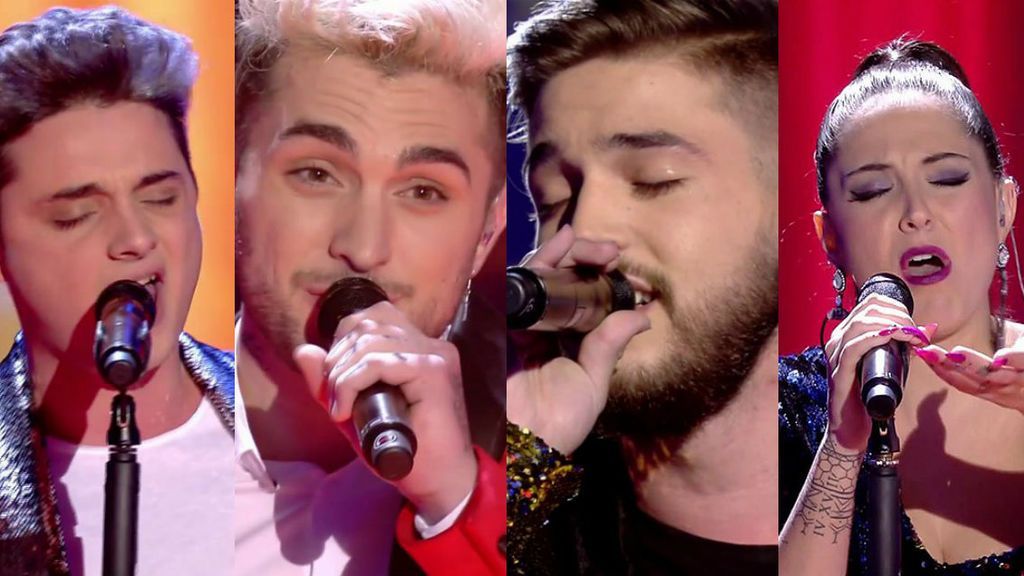 ¡Ya tenemos finalistas! Gabriele, Samuel, Pedro o Alba, solo uno ganará 'La Voz'
