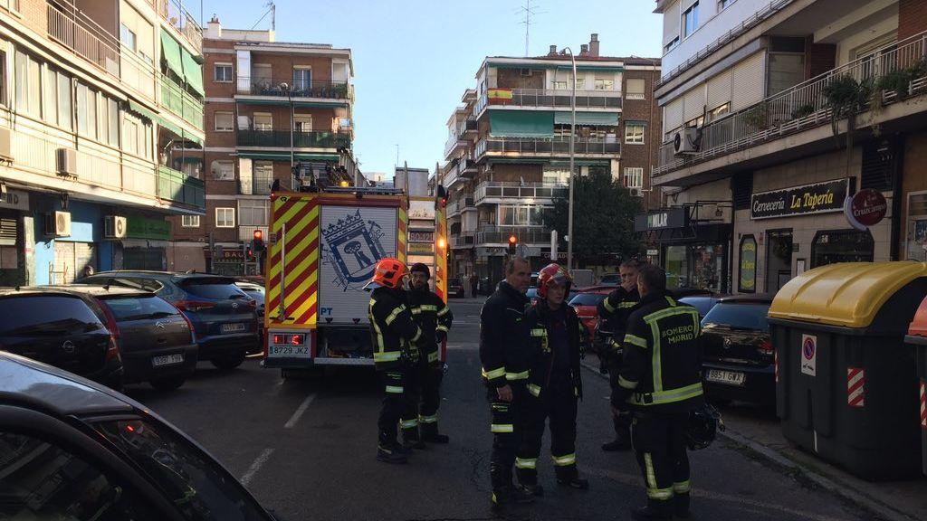 Un hombre de 40 años muere en Madrid tras incendiarse el colchón de su vivienda