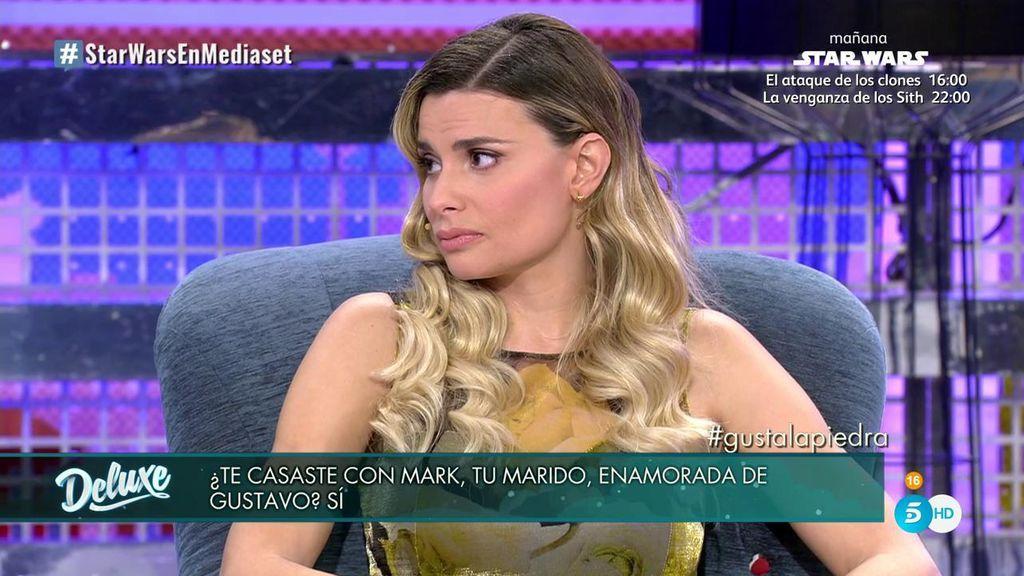 """María Lapiedra: """"Me casé para olvidar a Gustavo pero seguía enamorada de él"""""""