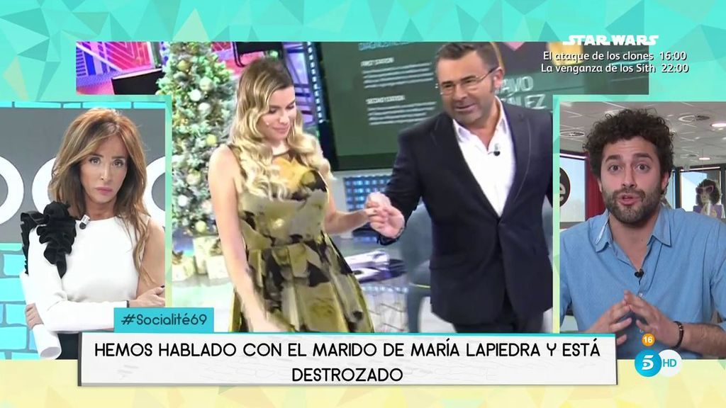 ¡Exclusiva! Primera reacción del marido de María Lapiedra después del Polideluxe