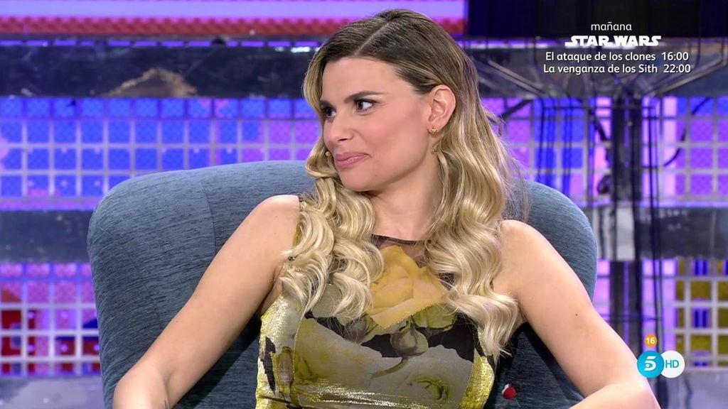 María Lapiedra desvela el contenido de un vídeo con Gustavo que enfadó a su marido