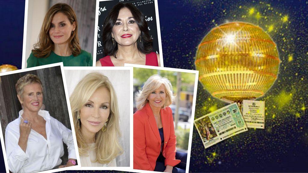 Lotería de Navidad: A todos estos famosos les ha tocado en alguna ocasión
