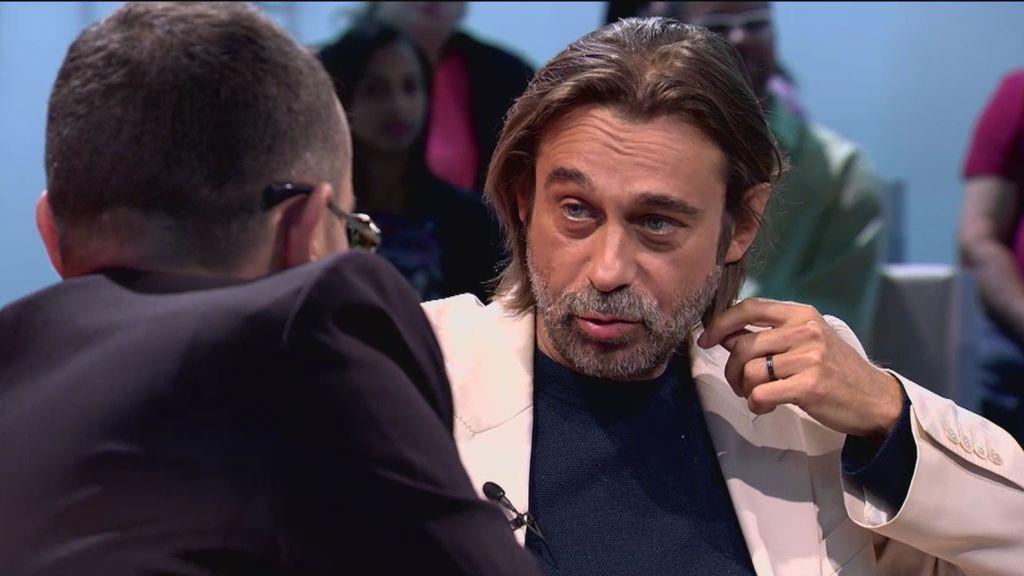 """Jordi Mollà, sorprendido con Risto: """"¿Tu mujer tiene 21 años? ¡Qué maravilla!"""""""