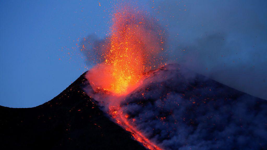 La erupción del etna, en Sicilia (1 marzo)