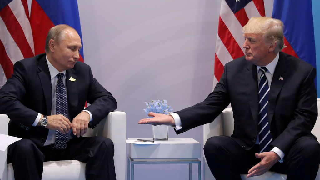 Putin y Trump... aliados o enemigos en la Cumbre del G20 ( Julio )
