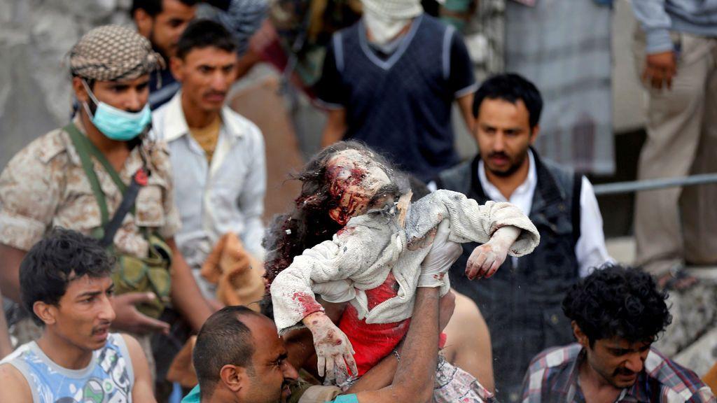 Bombardeo saudí en Yemen (25 agosto)