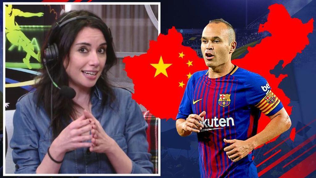 Marta Flich, tras la 'vía china' de Andrés Iniesta: ¿última Navidad de azulgrana?