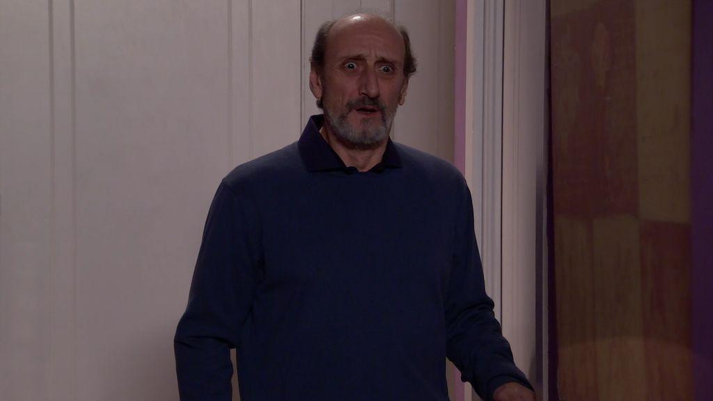 Enrique ve por primera vez a Alba sin peluca y se queda impactadísimo