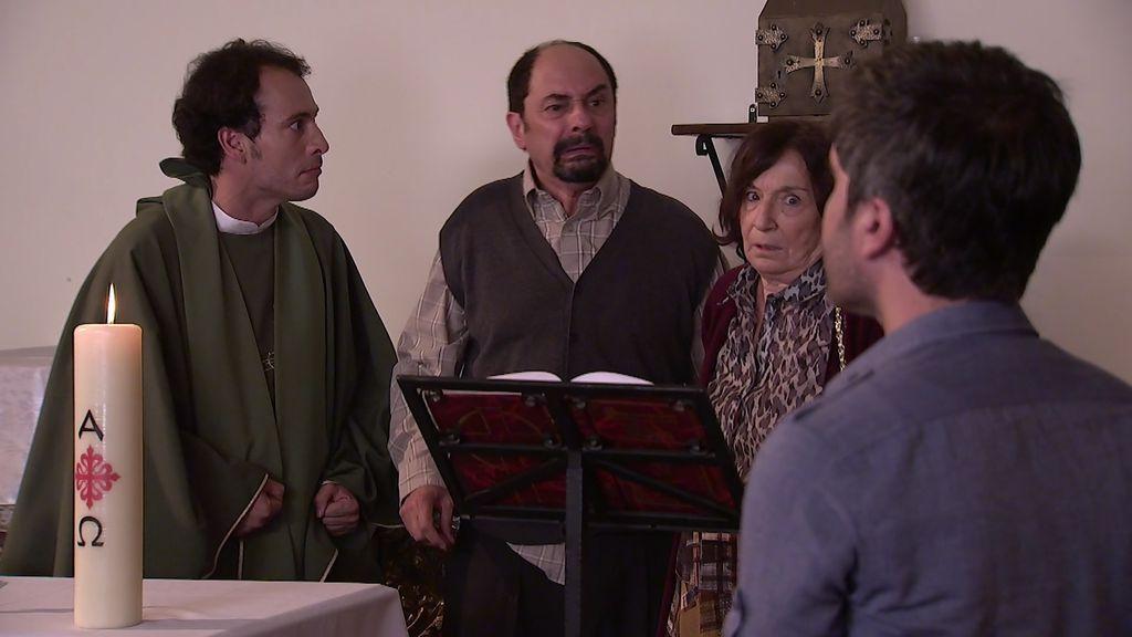 ¡A la carrera! Fina, Teodoro y Antonio, a la caza de 200.000 euros ocultos en una parroquia