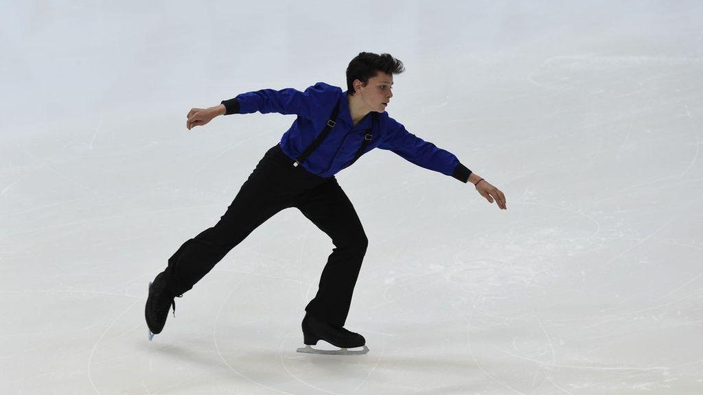 Mauro Calcagno lloró cuando vio por primera vez una pista de hielo olímpica: ahora apunta a los Juegos