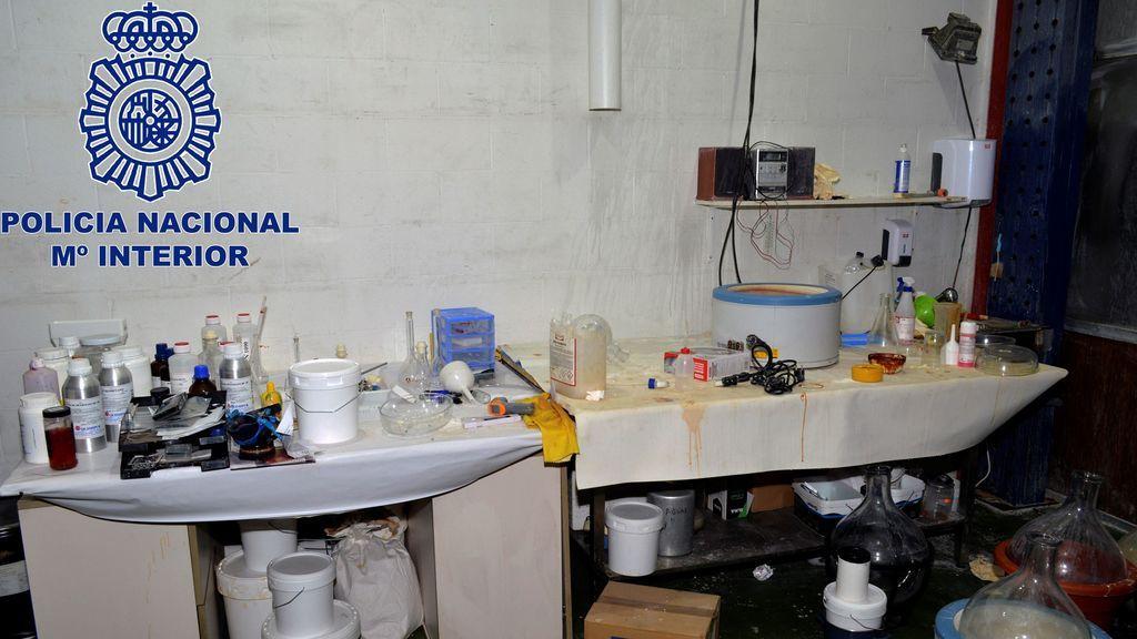 Desmantelados dos laboratorios de droga en Lleida y Huesca