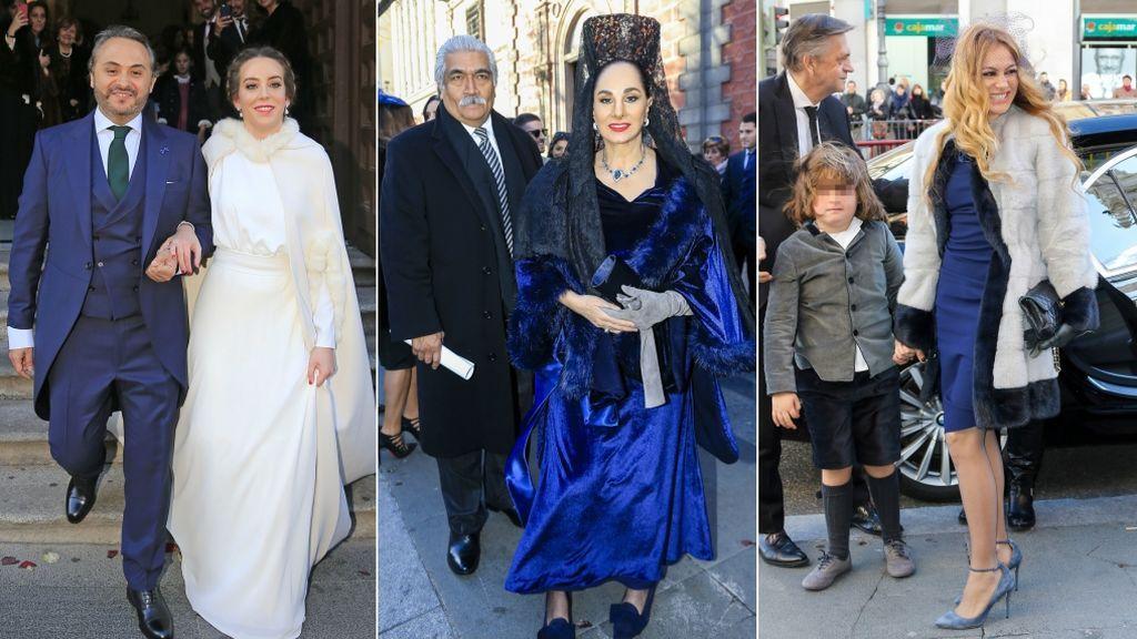 Aciertos y errores de la boda de Enrique Rubio y María Escrivá de Balaguer