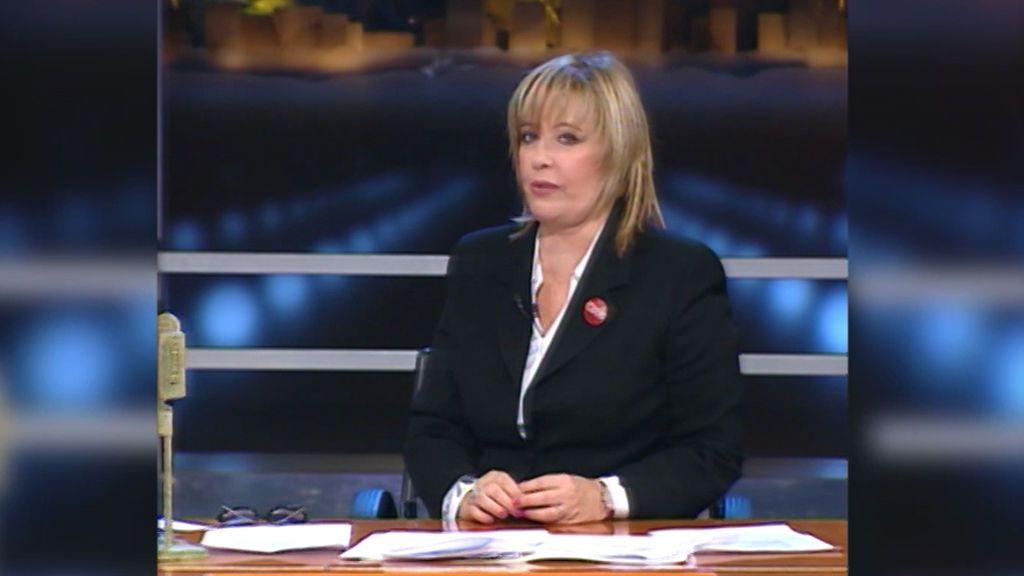 ¿Sabías que María Teresa Campos fue presentadora en 'Crónicas Marcianas' un día?