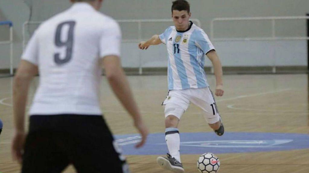 Los 10 días de prueba de Santiago Rufino con el Barça para ser el nuevo Messi del fútbol sala