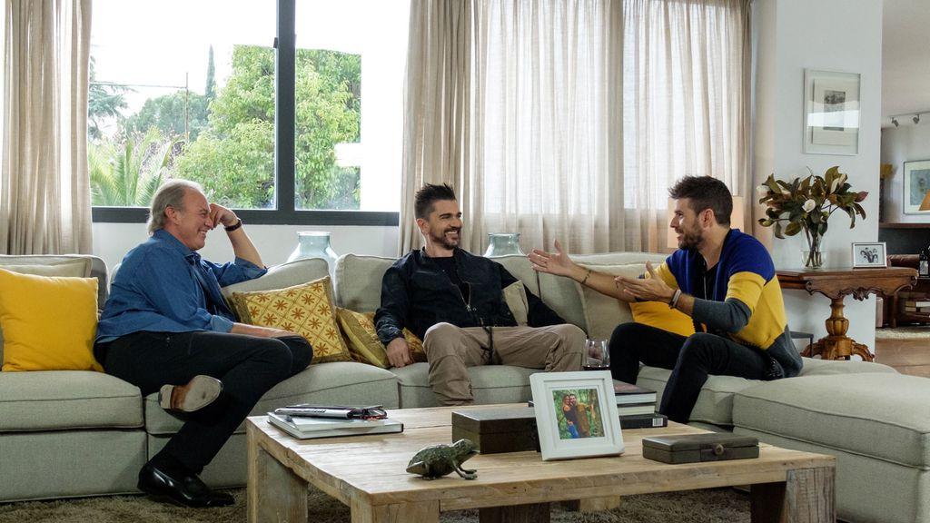 Los 'coaches' de 'La voz 5' visitan a Bertín Osborne en 'Mi casa es la tuya'.